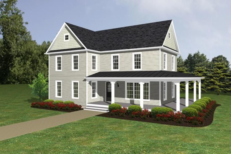 farmhouse house plan with 1621 square feet and 3 bedroomss from dream home source house plan code dhsw55181 houses i love pinterest farmhouse - 2 Story Country House Plans