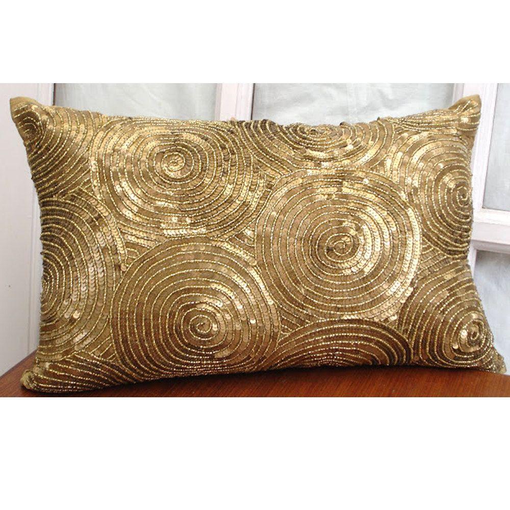 Decorative Oblong  Lumbar Pillow Cover Accent Pillow