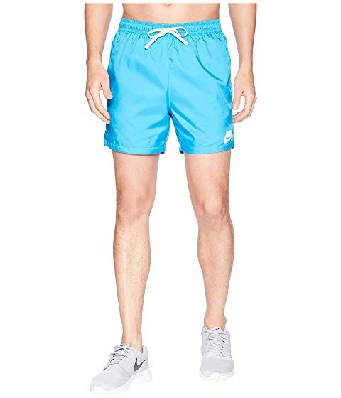 d837e7ae90 NIKE Woven Flow Short, EQUATOR BLUE/WHITE/WHITE. #nike #cloth | Nike ...