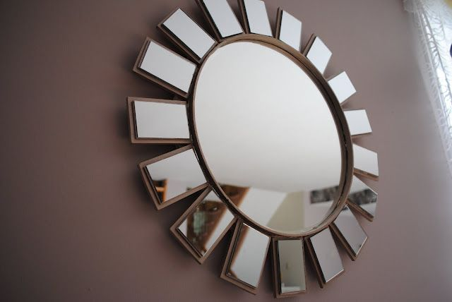 #springintothedream  Top Pins That Inspired My Spring Dreams: #12 - Starburst Mirror