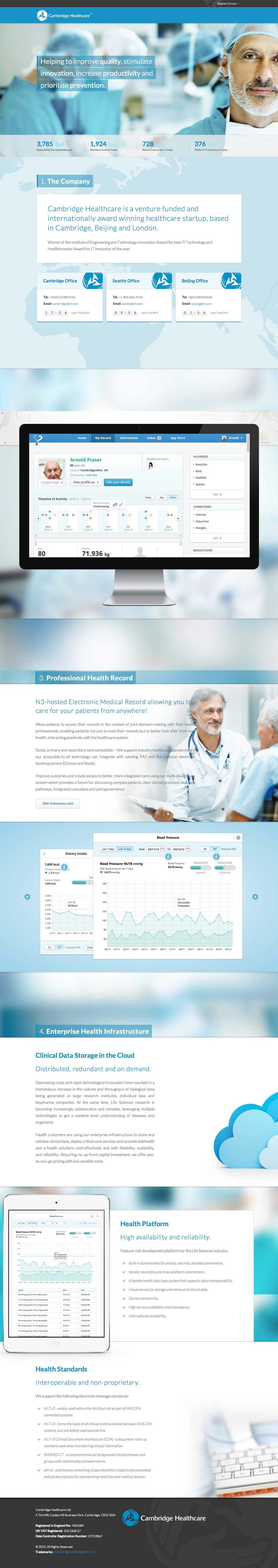 45 professional medical website designs templates you can learn from. Black Bedroom Furniture Sets. Home Design Ideas