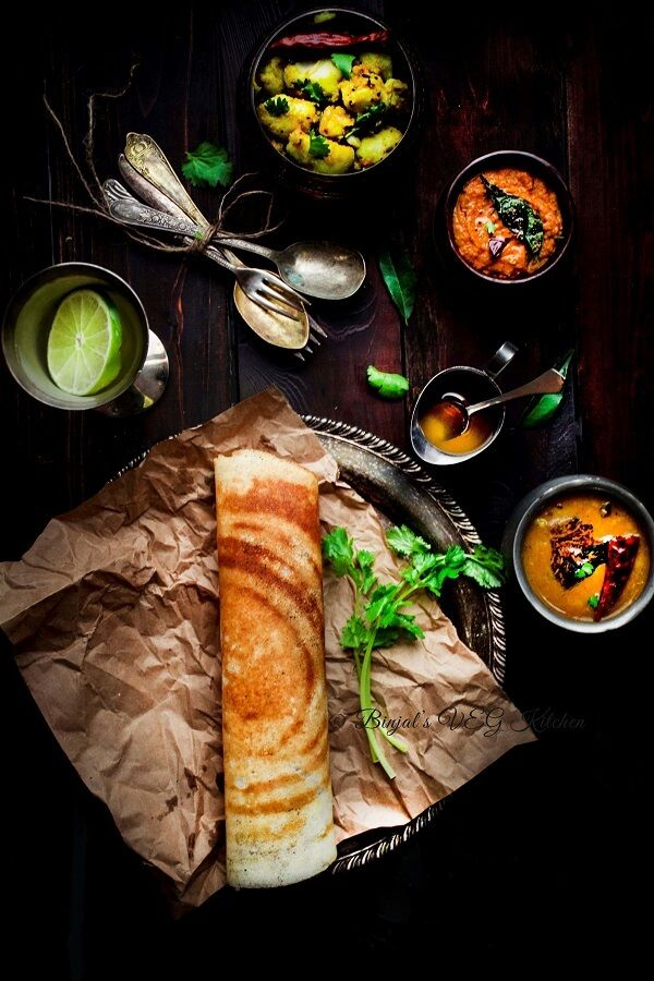Masala Dosa Photography Indian Food Recipes Indian Food