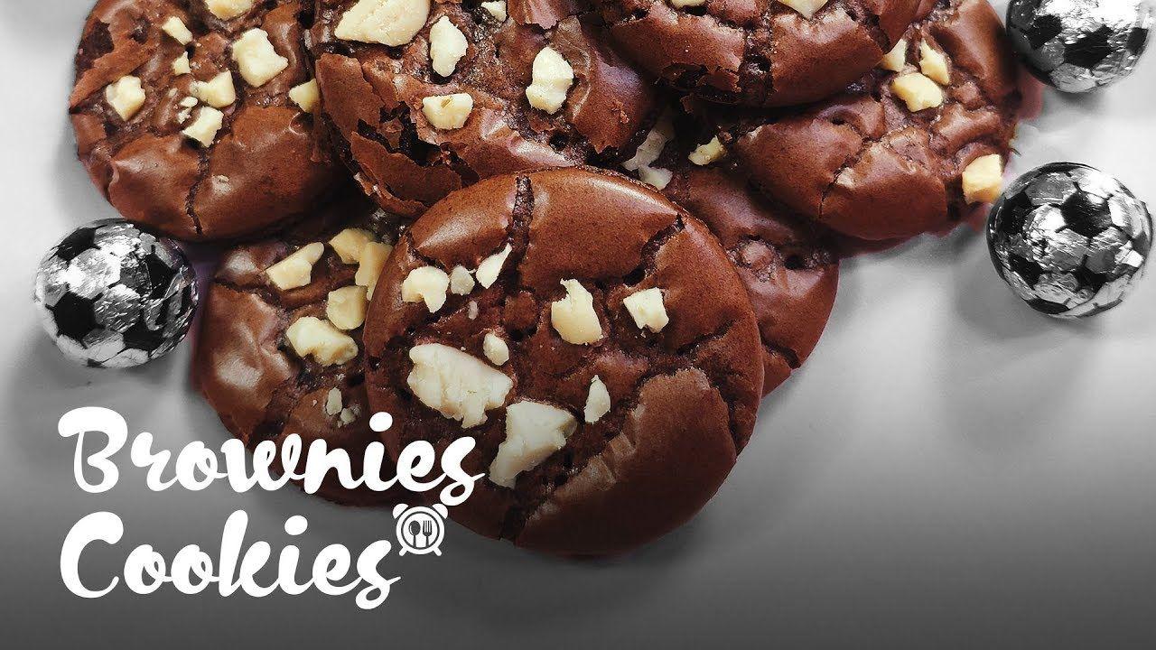 Brownies Cookies Cantik Youtube Brownie Cookies Brownies Cookies