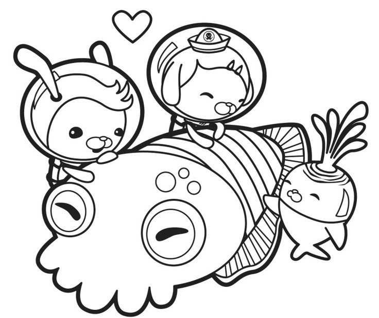 Print Octonauts Coloring Pages #cartoon #coloring #pages #cartoon ...