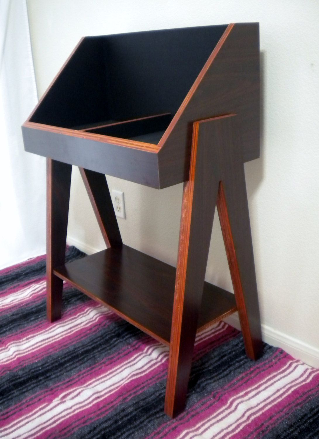 Vinyl Record Storage Stand And Display Holds 400 Lp S Etsy Record Storage Vinyl Record Storage Vinyl Storage