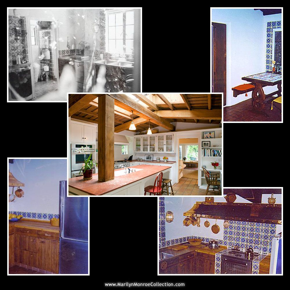 Kitchen In Marilyn S Brentwood Home Then And Now