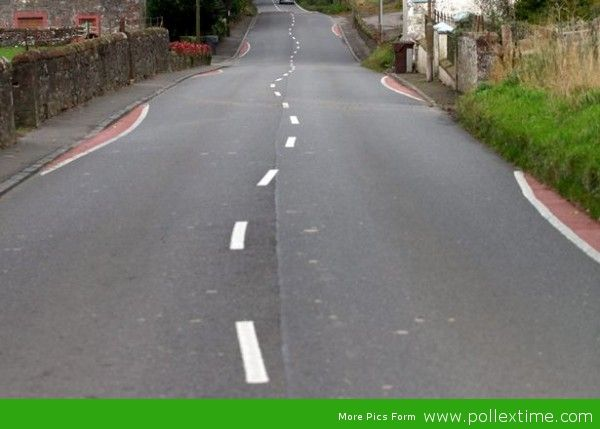 Wiggly lines driving motorists crazy as locals slam 'silly' traffic calming measure as work of a drunken road worker