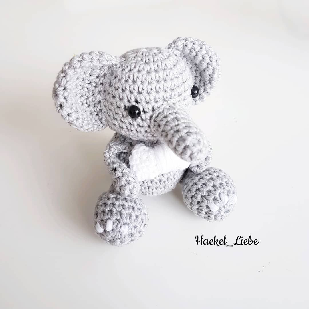 Mini Elefant Pattern By At Theresascrochetshop Elephant