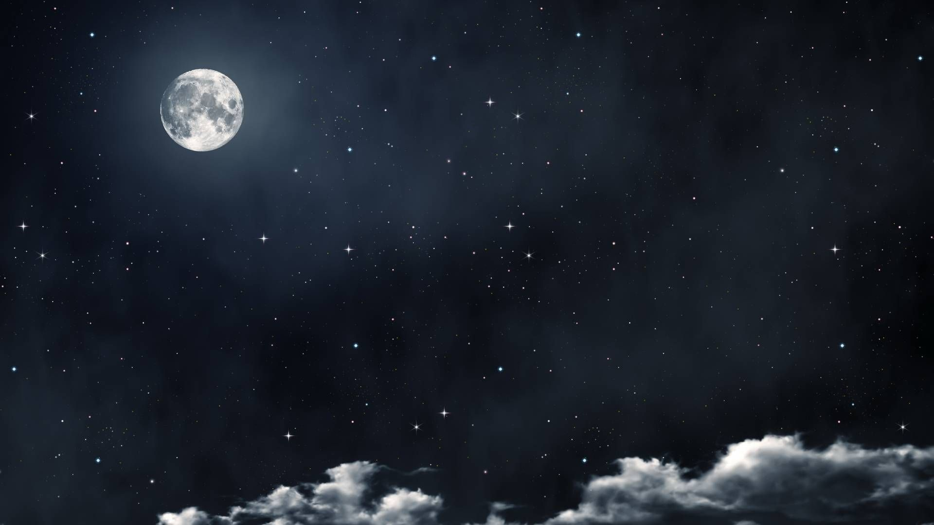 Moon And Stars Space Cool Fun Moon And Stars Wallpaper Night Sky Moon Night Sky Wallpaper