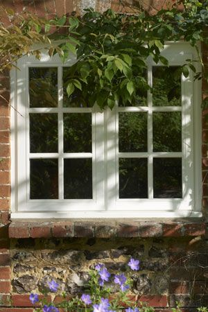 Anglian Home Wooden Casement Window With Cottage Bars In A