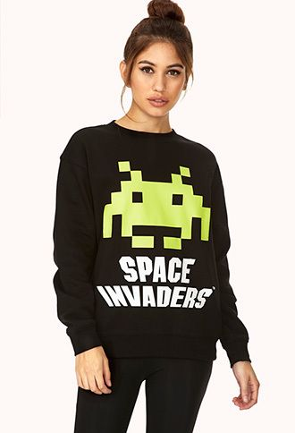 Moletom Space Invaders