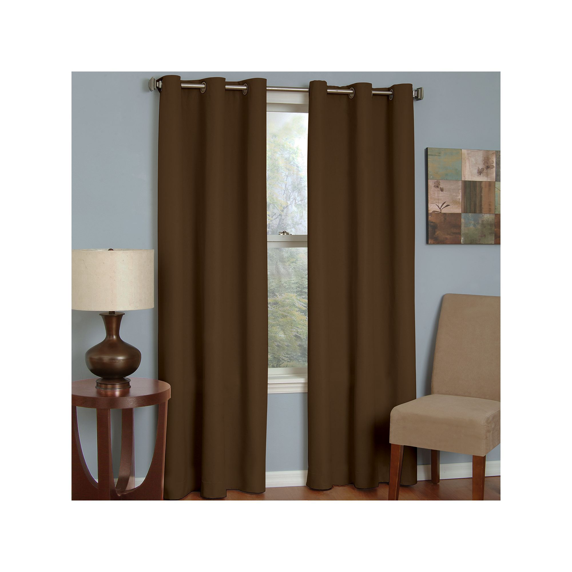 Eclipse Microfiber Blackout Window Curtain Curtains Blackout Curtains Eclipse Curtains