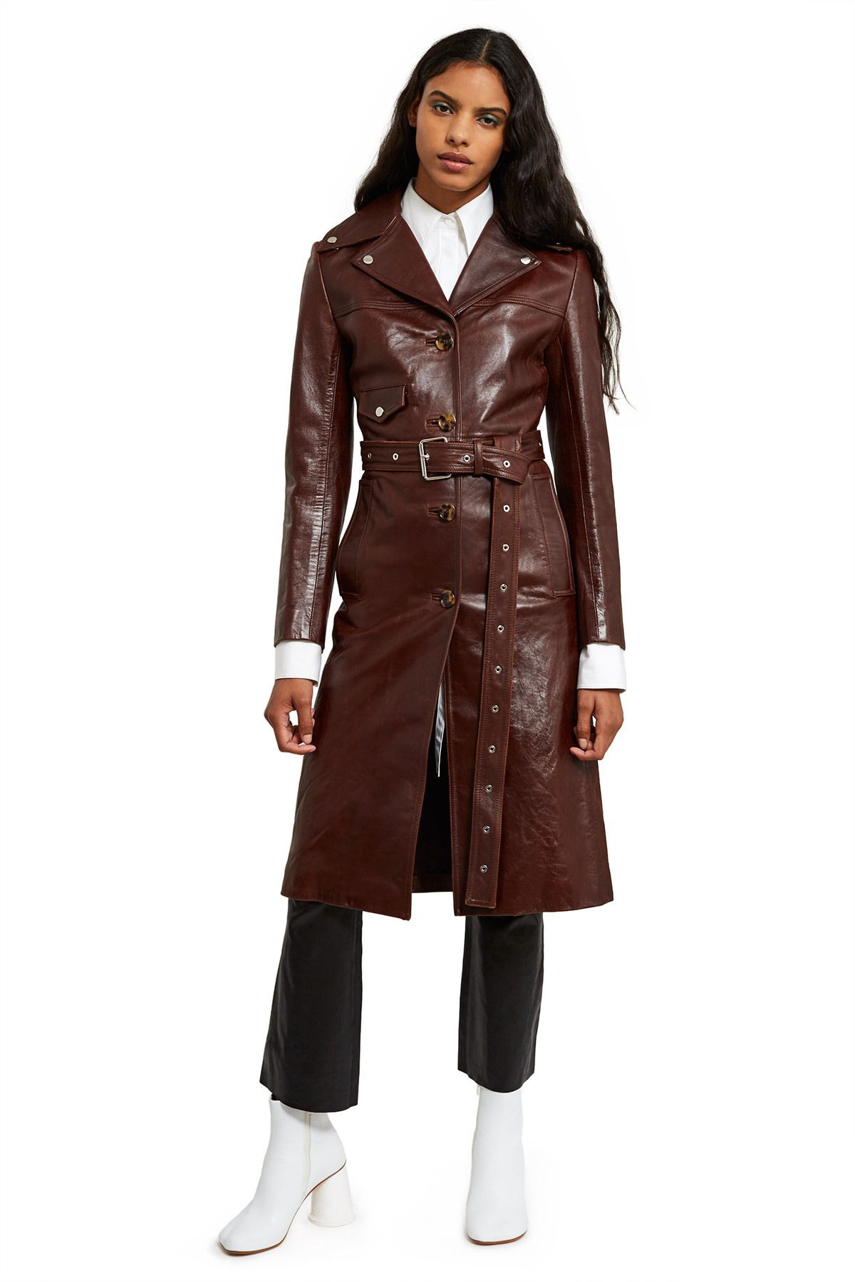 Ladies supermodel Olive Green Biker Style Designer Real Italian Leather Jacket