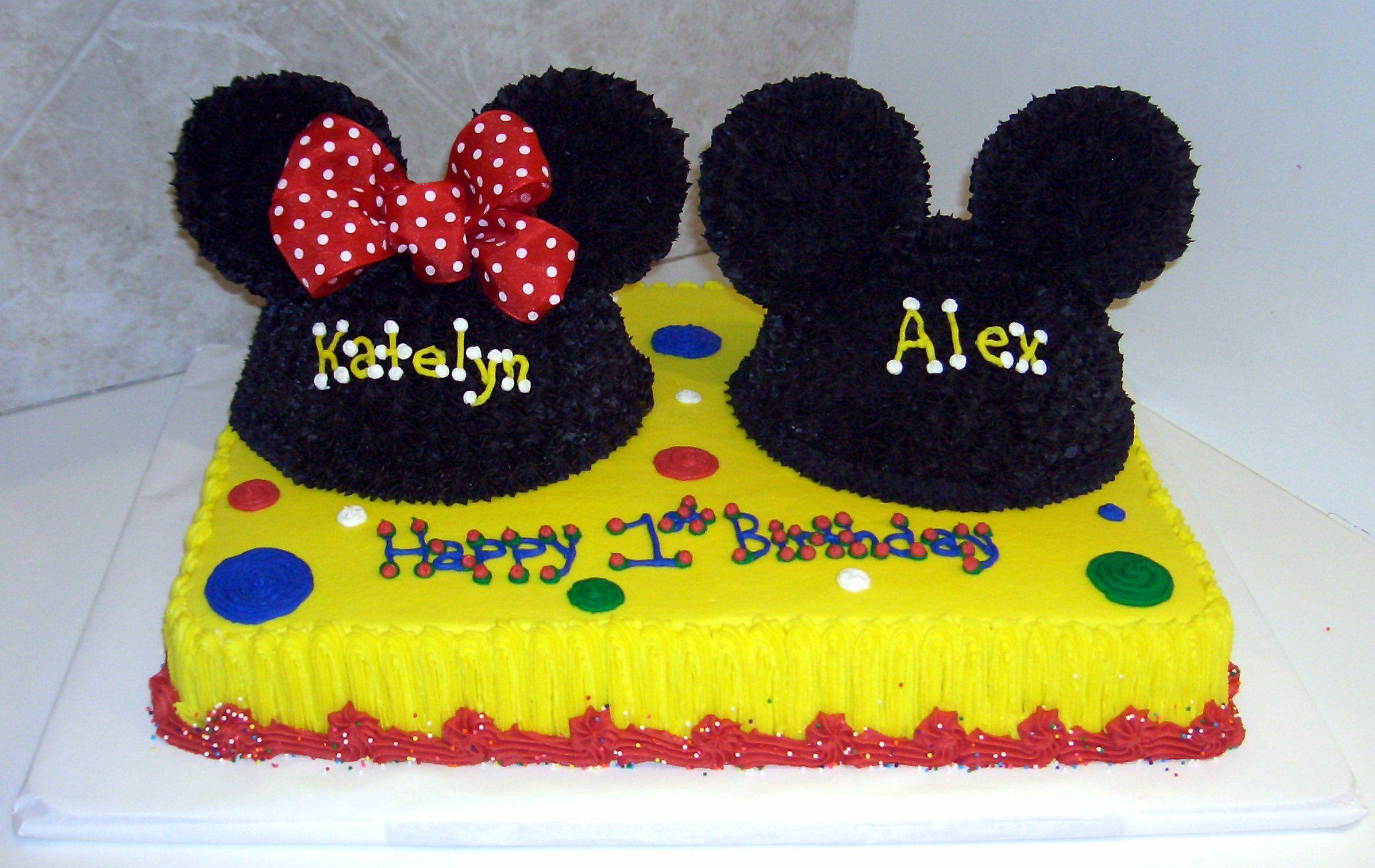 Mickey Mouse Cake Birmingham Al