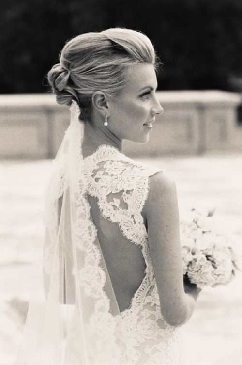 French Chic Wedding Inspiration I Monique Lhuillier Scarlett Gown Parisien Cpbride