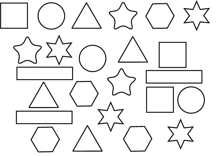 vormen kleurplaat search kleuren en vormen