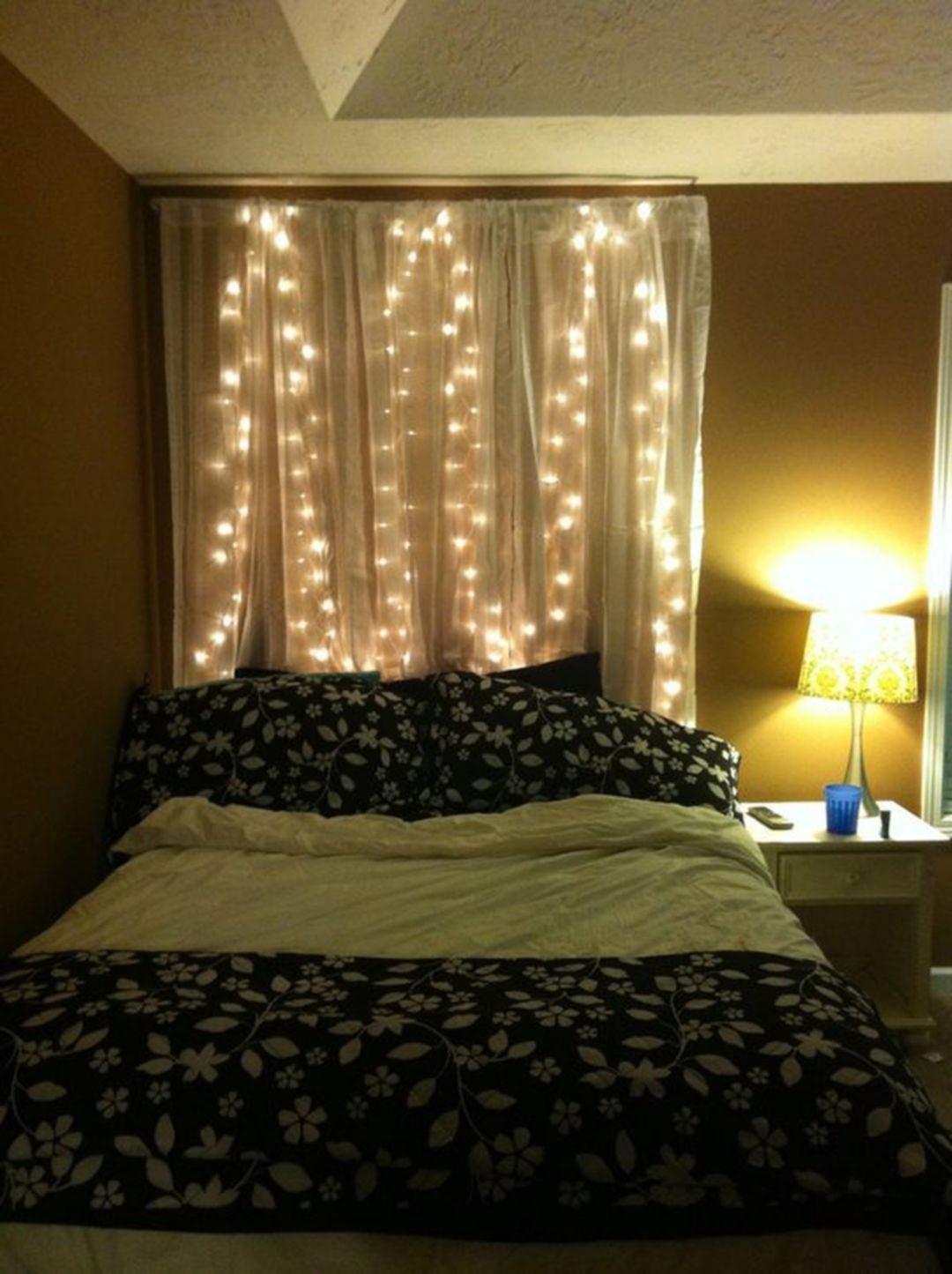 39++ Fairy lights on bed frame trends