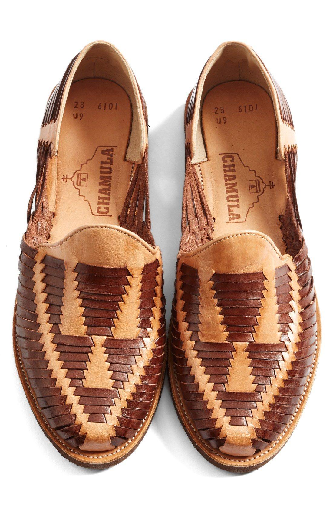 Chamula Cancun Huarache Woven Loafer d70N2