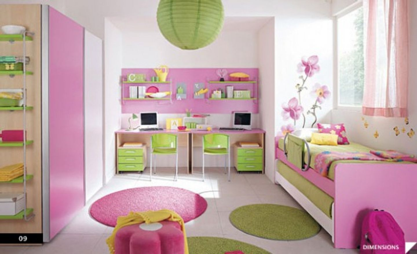 Girls Rooms Just A Girl Pinka And Blue Teen Girls Bedroom