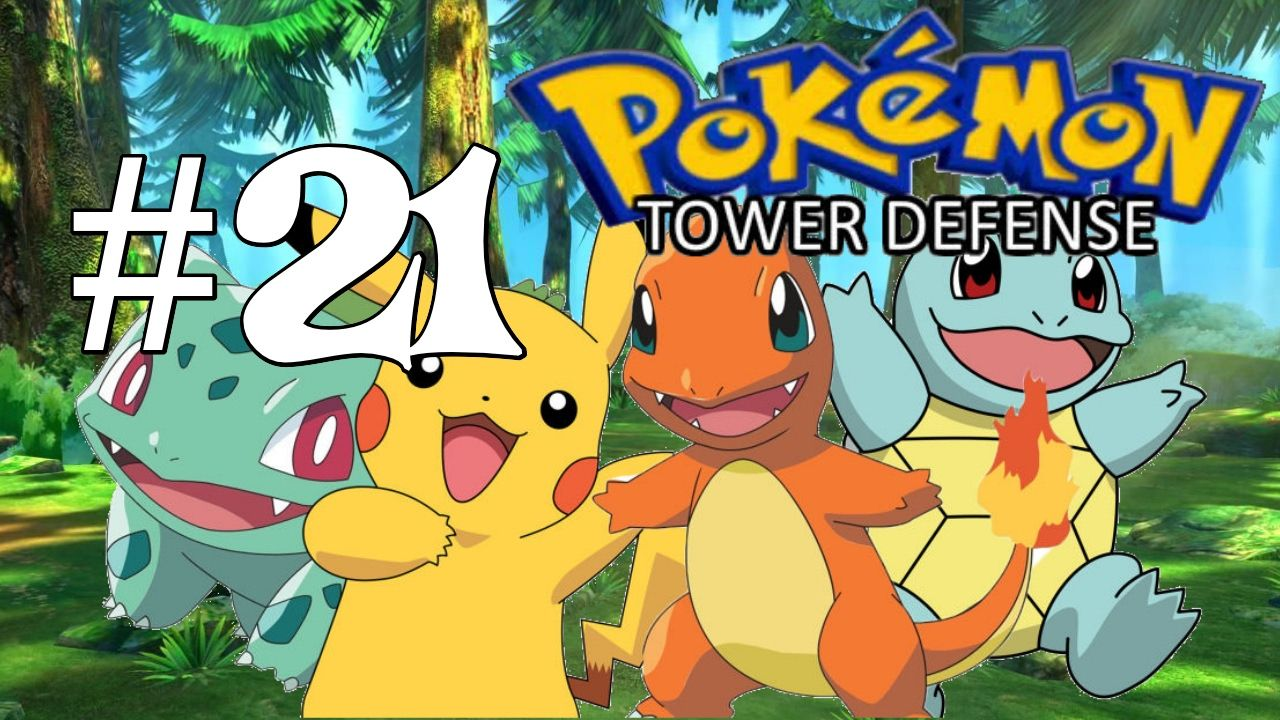 Pokémon Tower Defense: Okay...New Strategy - PART 21 Check it out ...