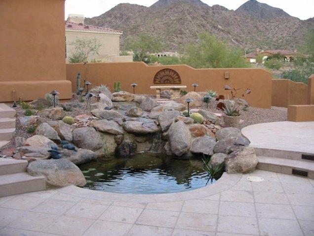 Pond  Desert  Rocks Pond and Waterfall JSL Landscape LLC Sedona. Pond  Desert  Rocks Pond and Waterfall JSL Landscape LLC Sedona