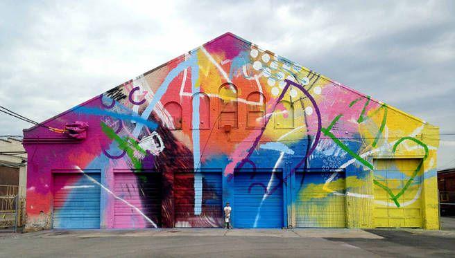 Colorful Street Art Murals