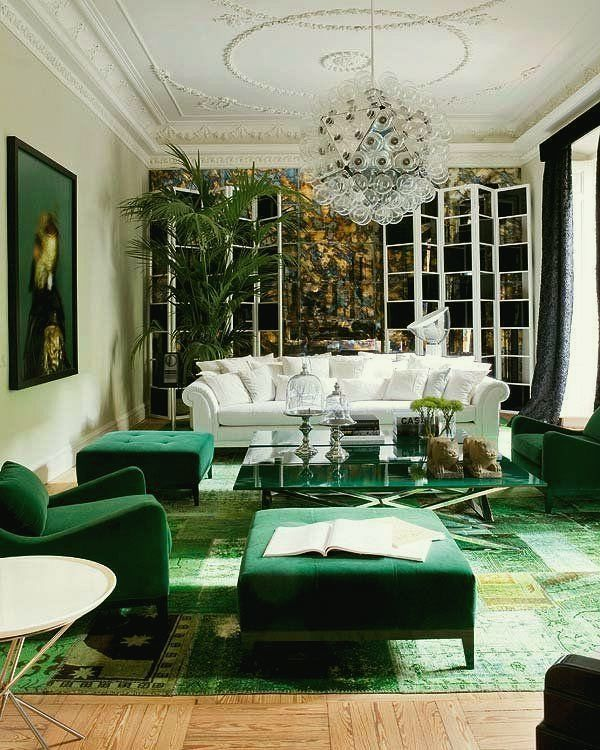It's Easy Being Green | Green Decorating | the Color Green!