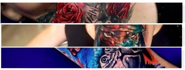 El mejor tatuador de colombia Daniel