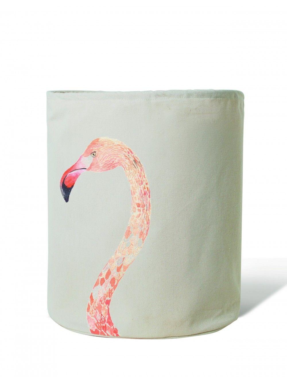 Baby flamingo car interior design - Flamingo Laundry Hamper