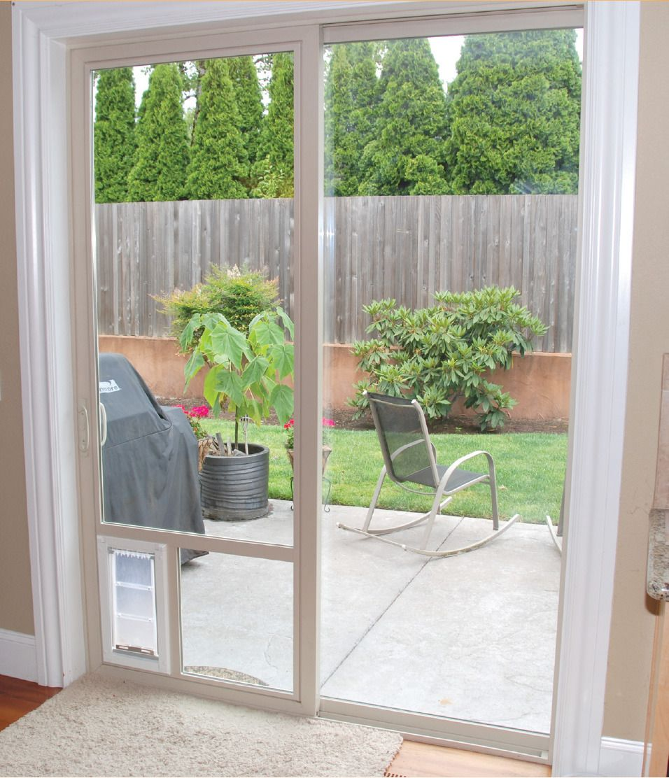 Best Dog Door For Sliding Glass Doors In Utah Adv Windows Pet
