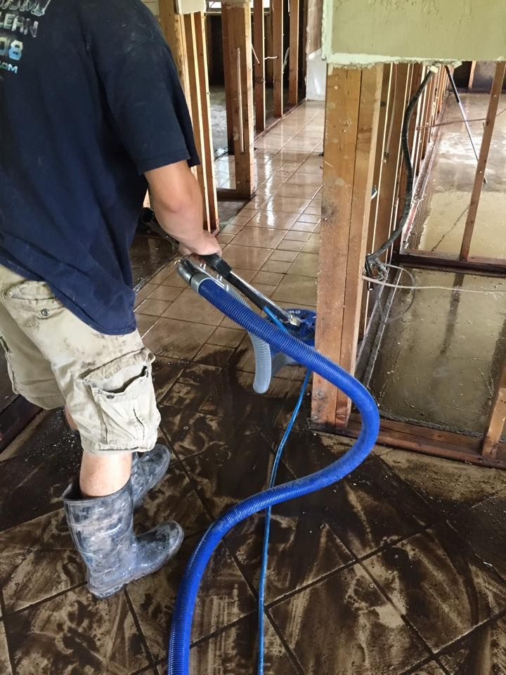 The Water Extraction Process In A Flooded Home Is No Joke Www Ateamcarpetclean Com Water Damage Repair How To Clean Carpet Organic Rug