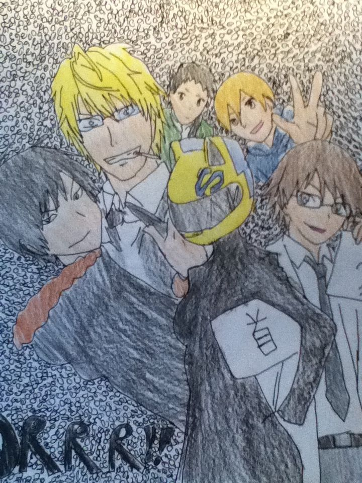 DURARARA My drawings, Drawings, Character