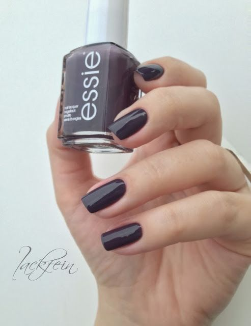 Essie Smokin Hot - currently wearing this colour. As you can tell ...
