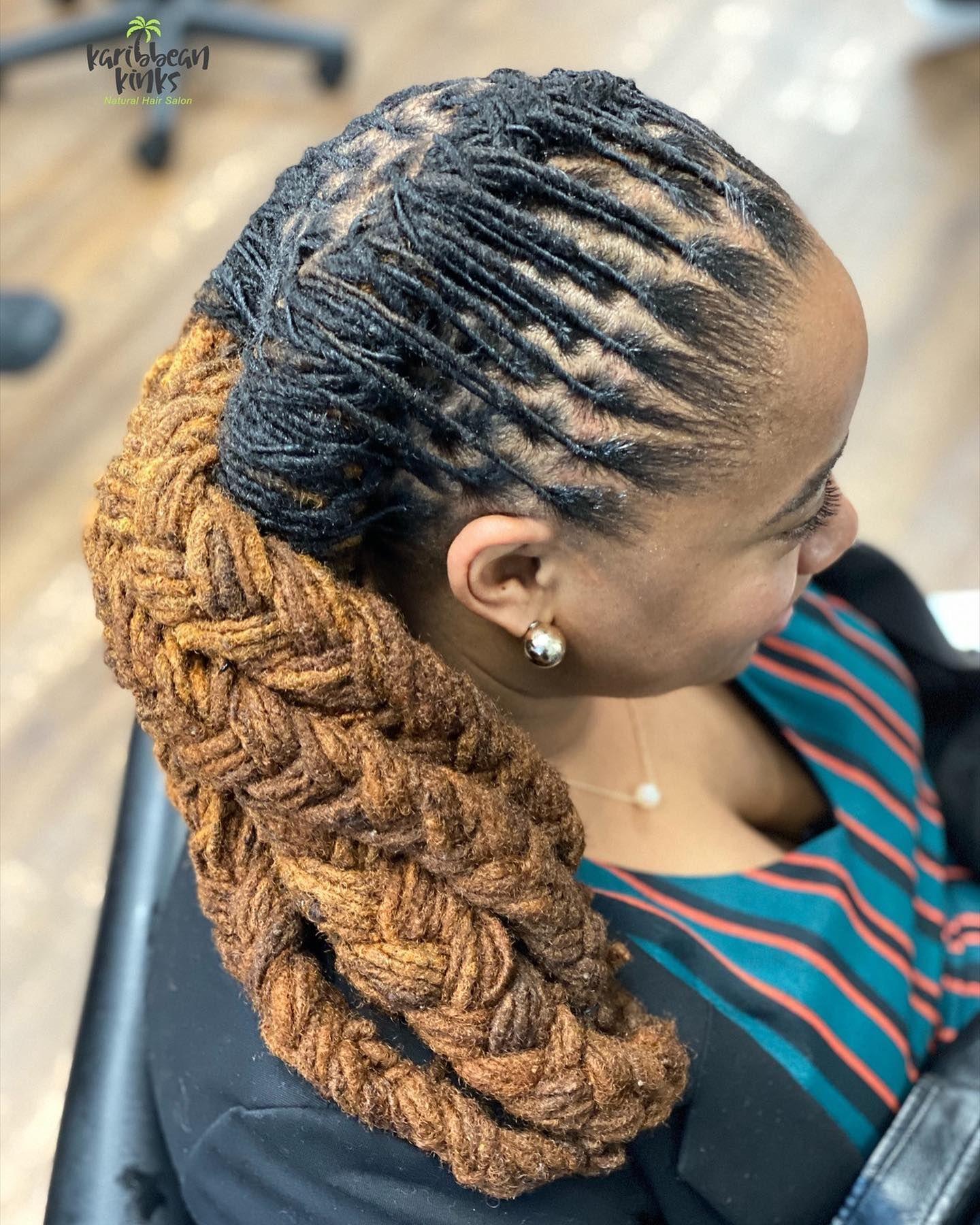 Women loc Stylessss 💚💚💚 KARIBBEAN KINKS NATURAL HAIR