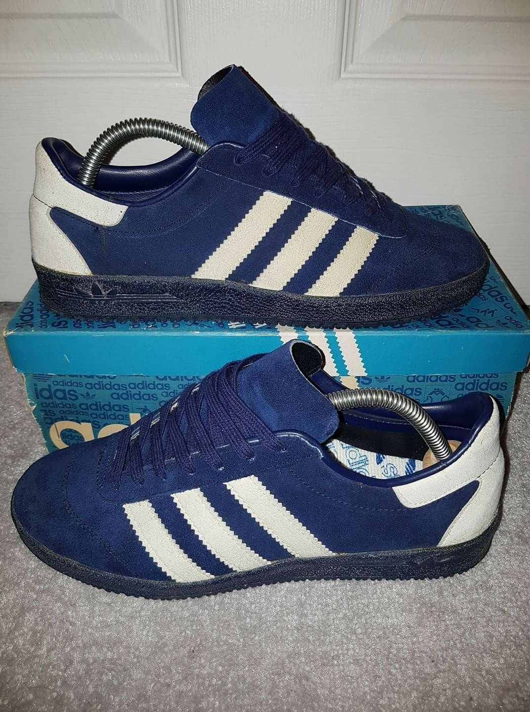 8f05cf4617a31 Adidas Gaucho made in France these are the template for the new Spezial  AW17 release Intack
