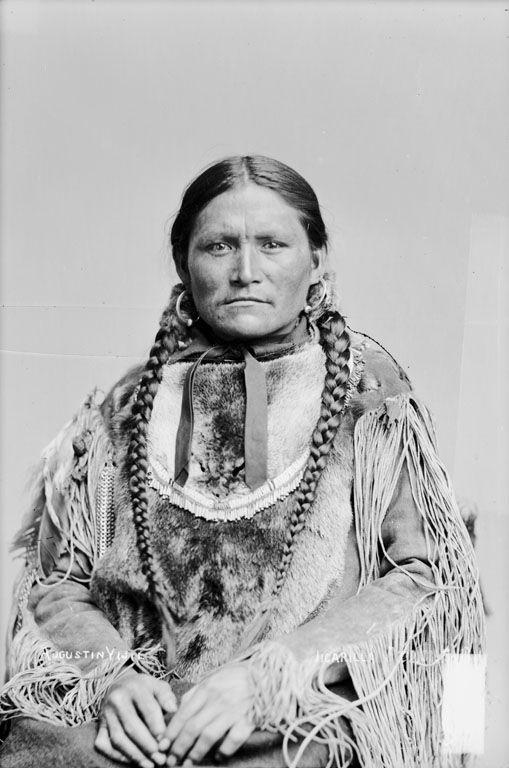 Photo of Augustin Vigil – Jicarilla Apache Chief 1880.