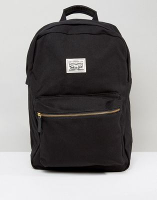 31a4cec601d Levi's canvas backpack in black | Backpack.. | Canvas backpack ...