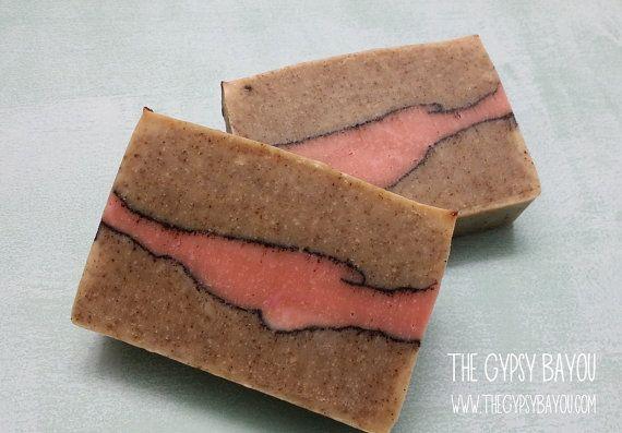 Handmade Hibiscus Soap by GypsyBayou on Etsy