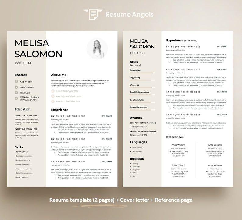 cv resume vorlage