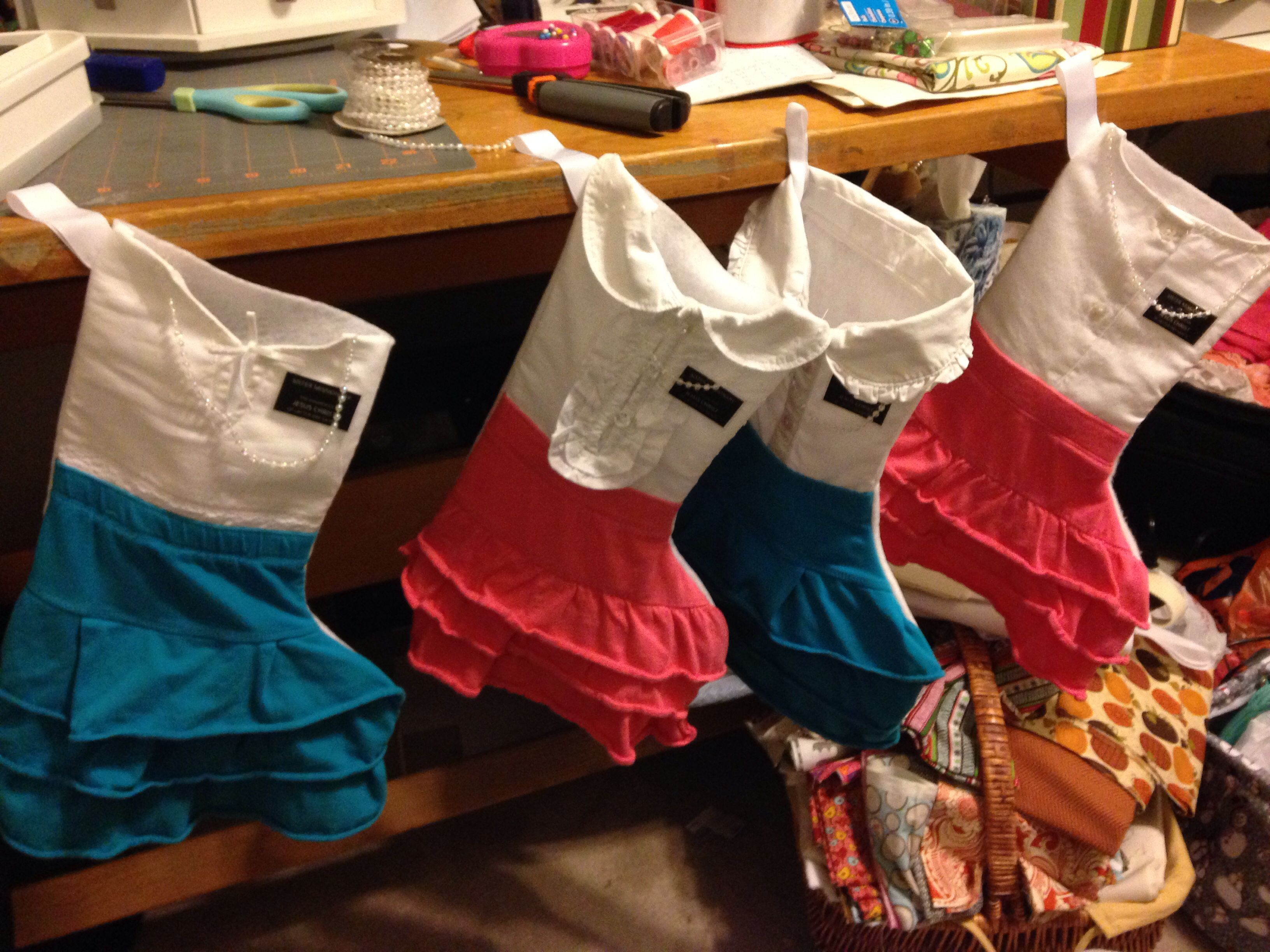 Sister Missionary Stockings! Oh my goodness. Im totally making these for my sisters when they go!