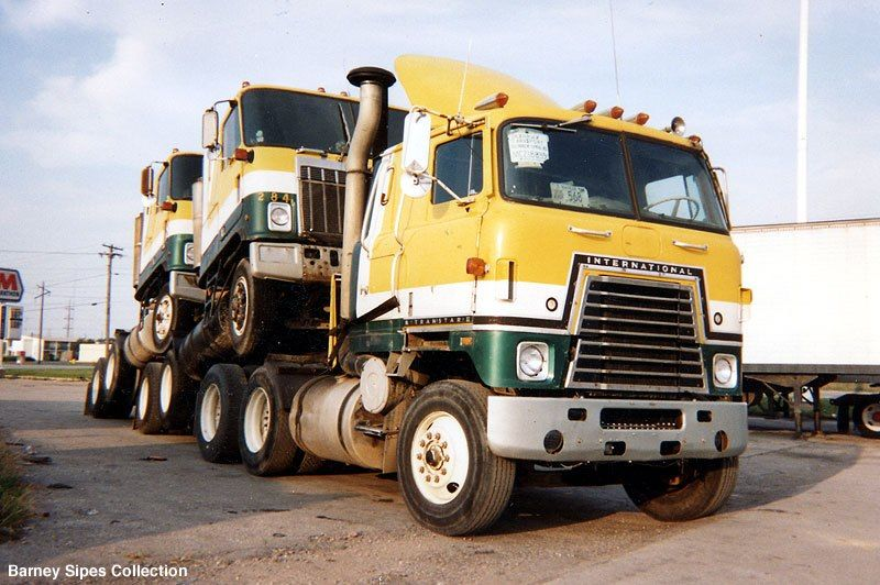 Here Are A Couple Of Mayflower Rigs From The 70s Photographed