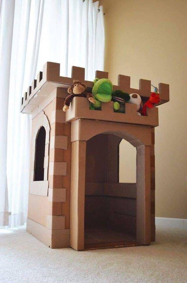Clever Stuff You Can Make With Cardboard For Kids.