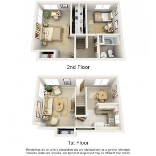 Arlington Townhomes & Apartments | Apartment, Townhouse ...