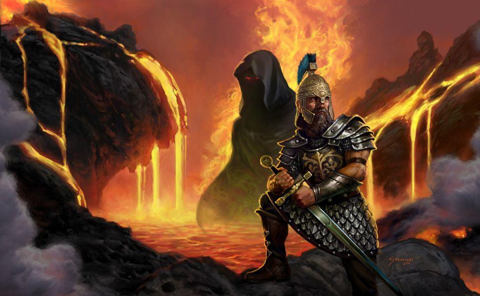Dragonlance, Taladas Trilogy, Shadow of the Flame by Matt Stawicki.