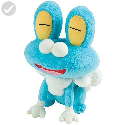 Pokémon Small Plush Froakie - Plush cuteness (*Amazon Partner-Link ...