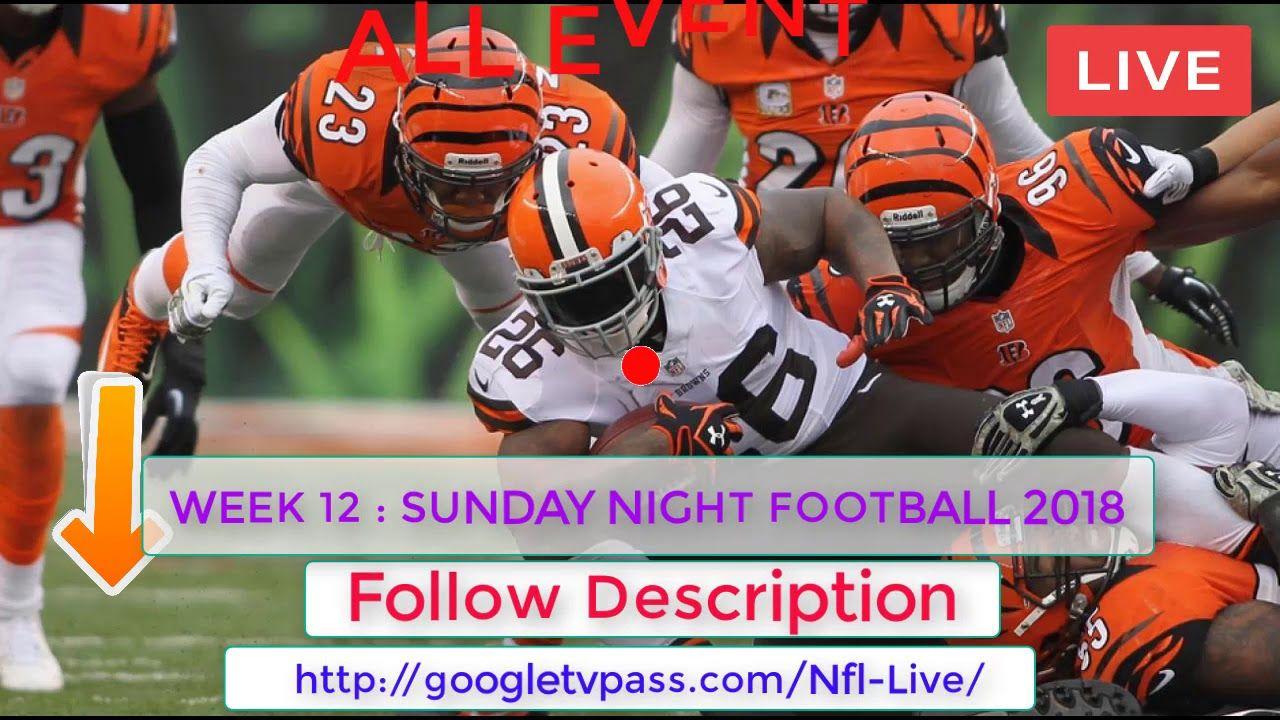 (((Cleveland vs Cincinnati Live))) NFLWeek 12 Streaming