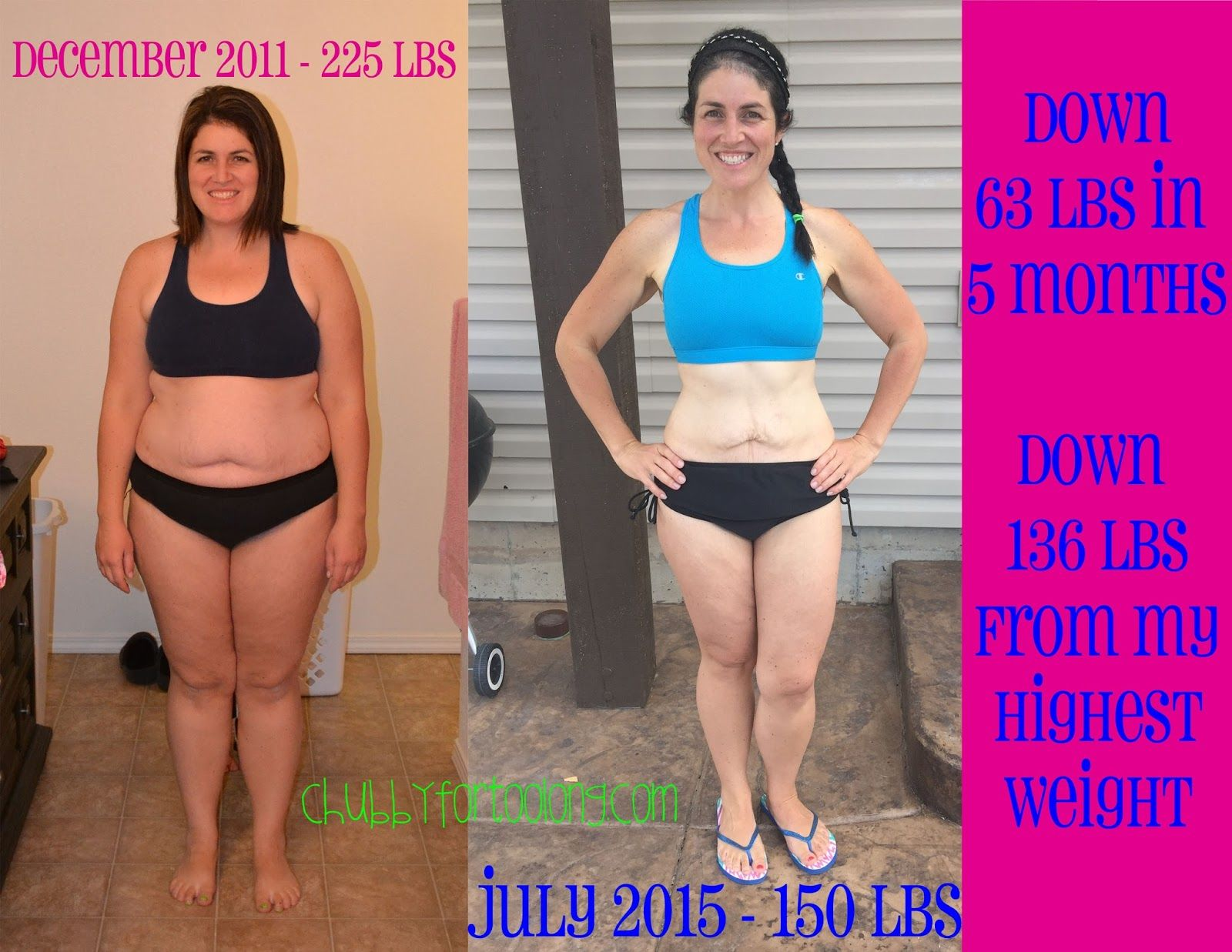 Chubby for too long!: Before and After photos! Actually, progress photos! Still a work in ...