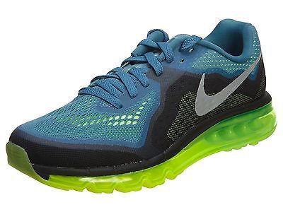 Nike Air Max 2014 Mens 621077 403 Rift Blue Lime Mesh