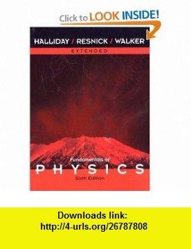 Fundamentals of physics, 6th edition enhanced prob version (wse.
