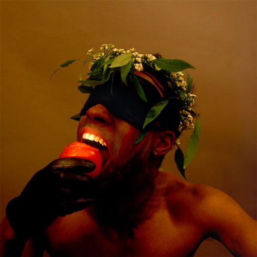 """Rotimi Fani-Kayode """"Rotimi with Fruit""""     Would be a great image for the Black Fruit EP."""